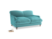 Small Pudding Sofa in Belize clever velvet