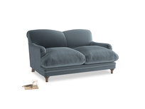 Small Pudding Sofa in Mermaid plush velvet