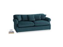 Large Crumpet Sofa in Harbour Blue Vintage Linen