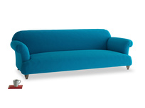 Extra large Soufflé Sofa in Bermuda Brushed Cotton