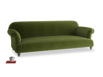 Extra large Soufflé Sofa in Good green Clever Deep Velvet