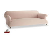 Extra large Soufflé Sofa in Pink clay Clever Softie