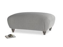 Rectangle Homebody Footstool in Cloudburst Bamboo Softie