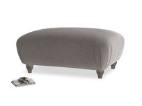 Rectangle Homebody Footstool in Everyday Grey Clever Cord