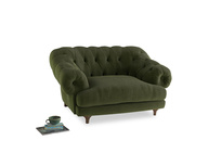 Bagsie Love Seat in Leafy Green Clever Cord