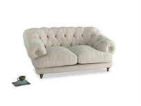 Small Bagsie Sofa in Alabaster Bamboo Softie