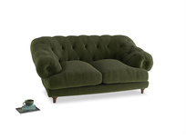 Small Bagsie Sofa in Leafy Green Clever Cord