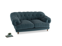 Small Bagsie Sofa in Lovely Blue Clever Cord