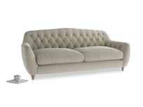 Large Butterbump Sofa in Blighty Grey Clever Cord