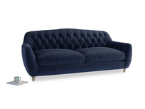 Large Butterbump Sofa in Indian Blue Clever Cord