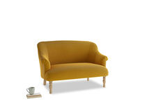 Small Sweetie Sofa in Saffron Yellow Clever Cord