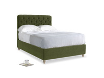 Double Billow Bed in Leafy Green Clever Cord