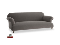 Large Soufflé Sofa in Everyday Grey Clever Cord