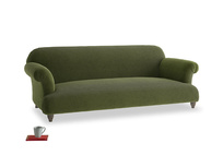 Large Soufflé Sofa in Leafy Green Clever Cord