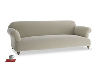 Extra large Soufflé Sofa in Blighty Grey Clever Cord