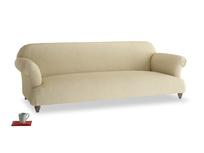 Extra large Soufflé Sofa in Parchment Clever Linen