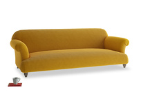 Extra large Soufflé Sofa in Saffron Yellow Clever Cord