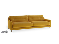 Large Slim Jim Sofa in Saffron Yellow Clever Cord
