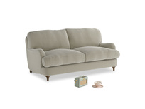 Small Jonesy Sofa in Blighty Grey Clever Cord