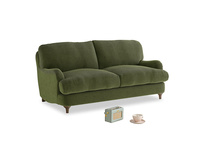 Small Jonesy Sofa in Leafy Green Clever Cord