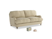 Small Jonesy Sofa in Hopsack Bamboo Softie