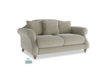 Small Sloucher Sofa in Blighty Grey Clever Cord