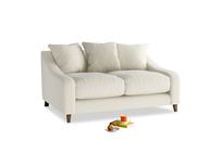 Small Oscar Sofa in Alabaster Bamboo Softie