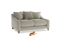 Small Oscar Sofa in Blighty Grey Clever Cord