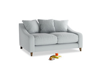 Small Oscar Sofa in Gull Grey Bamboo Softie