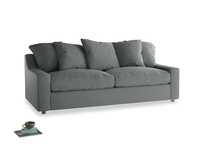 Large Cloud Sofa in Cornish Grey Bamboo Softie