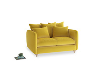 Small Podge Sofa in Bumblebee clever velvet