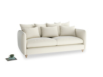 Large Podge Sofa in Alabaster Bamboo Softie