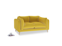 Small Slow-Mo Sofa in Bumblebee clever velvet