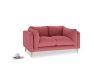 Small Slow-Mo Sofa in Raspberry brushed cotton