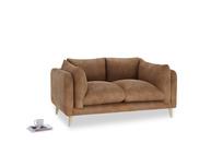 Small Slow-Mo Sofa in Walnut beaten leather