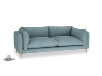 Large Slow-Mo Sofa in Soft Blue Clever Laundered Linen