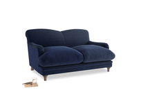 Small Pudding Sofa in Indian Blue Clever Cord