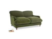 Small Pudding Sofa in Leafy Green Clever Cord