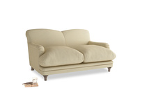 Small Pudding Sofa in Parchment Clever Linen