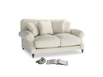Small Crumpet Sofa in Alabaster Bamboo Softie