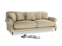 Large Crumpet Sofa in Hopsack Bamboo Softie