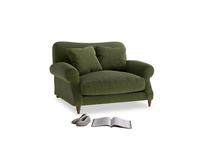 Crumpet Love seat in Leafy Green Clever Cord