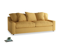 Large Cloud Sofa in Dorset Yellow Clever Linen