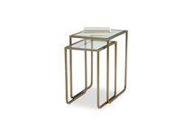 Shimmy nesting side table
