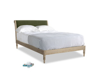 Double Darcy Bed in Leafy Green Clever Cord