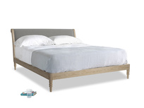 Superking Darcy Bed in Cloudburst Bamboo Softie