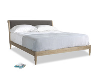 Superking Darcy Bed in Everyday Grey Clever Cord