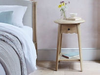Agatha rattan bedside table