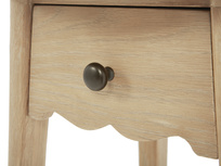 Agatha side table drawer detail