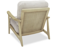 Squishbag Chair Rattan Detail